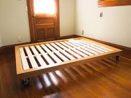diy platform bed casters beds pinterest diy platform bed