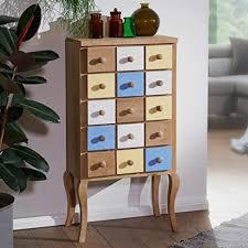 ks furniture highboard farid 50x100x30 cm retro stil mango