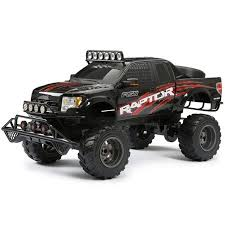 100 New Bright Rc Truck RC 16 Scale Ford Raptor Black Auction Auction