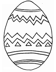 Best Easter Egg Coloring Page 12 In Picture With