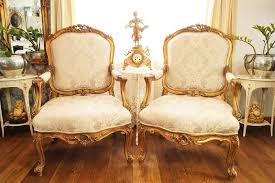 herrschaftlich 2 prächtige alte fauteuils im barockstil
