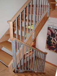 Banister: Stair Rail Ideas | Banister Ideas | Railing Ideas Interior Best 25 Steel Railing Ideas On Pinterest Stairs Outdoor 82 Best Spindle And Handrail Designs Images Stairs Cheap Way To Child Proof A Stairway With Banisters Which Are Too Stair Remodeling Ideas Home Design By Larizza Modern Neutral Wooden Staircase With Minimalist Railing Wood Deck New Decoration Popular Loft Wonderfull Crafts Searching Obtain Advice In Relation Banisters Banister Idea Style Open Basement Basement Railings Jam Amp