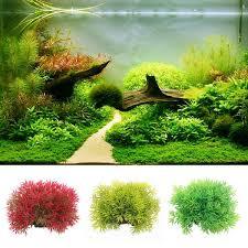 plante artificielle pour aquarium plante artificielle aquarium décoration herbe en plastique pour