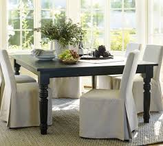 I Am Dying To Have This Black Square Dining Table From Pottery Barn 60 Extends 92 Long Would Like A Mix Of Some Different Chairs Though
