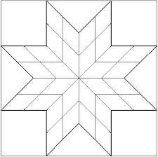 Small Lonestar Blank Coloring Page