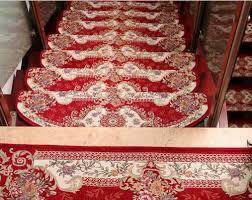 1 pièces marches d escalier tapis ensembles non skid tapis d