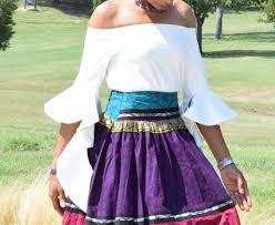 tribal print ankara high waisted maxi skirt u2022 vivellefashion