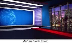 News TV Studio Set 282