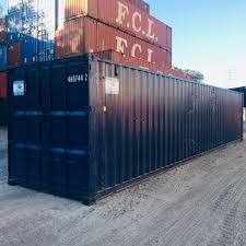 100 Shipping Containers 40 GP Repainted Standard Used Container