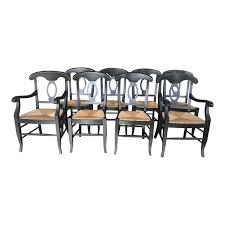 Napoleon Rush Seat Dining Chairs By Pottery Barn, Set Of 8. Original ... Uberraschend Stainless Steel Top Ding Table Pottery Barn Cus Indio Metal Side Chair Slate Ca Windsor Ashford Pottery Barn Loft Concept Chair 3dbrute 3dmodel China C895 76 Off Isabella Chairs Kitchen With Gl Appliances Tips And Review Napoleon Rush Seat By Set Of 8 Lovely Rh Homepage Room Sets Beautiful Mom Amp Daughters And Rentals For Uniquely Leather