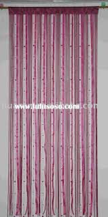 Doorway Beaded Curtains Wood by Hanging Door Beads Curtain Wooden Beaded Curtains Furniture Loversiq