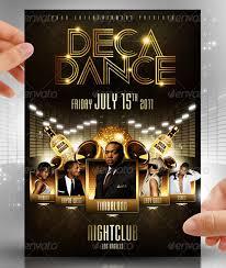 Deca Dance Flyer Template