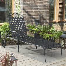 Furniture: Incredible Wrought Iron Chaise Lounge With Simple ... Fniture Incredible Wrought Iron Chaise Lounge With Simple The Herve Collection All Welded Cast Alinum Double Landgrave Classics Woodard Outdoor Patio Porch Settee Exterior Cozy Wooden And Metal Material For Lowes Provance Summer China Nassau 3pc Set With End Nice Home Briarwood 400070 Cevedra Sheldon Walnut Cane Rolling Chair C 1876