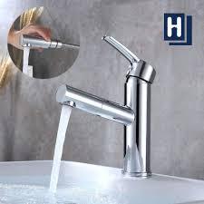 einhand bad wasserhahn waschbecken ausziehbarer homelody bad armaturen mit brause
