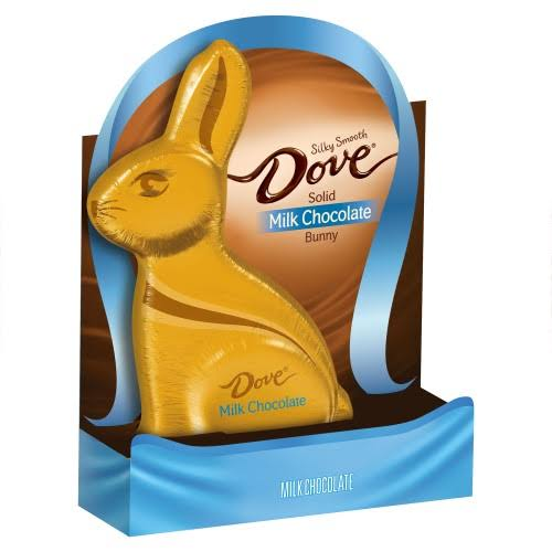 Dove Easter Milk Chocolate Candy - Solid, Easter Bunny, 12oz