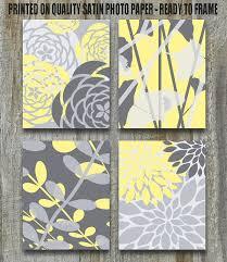 White Owl Bathroom Accessories by Nursery Decor Yellow Art Print Set Gray White Yellow To Match