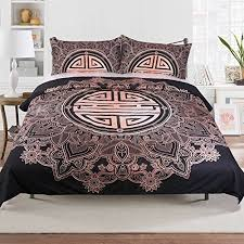 Sleepwish Chinese Bedding Sets 3 Pieces Asian Bedding with Lucky