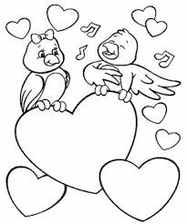 Coloring Page Pages Of Love God Loves Me Jesus Lovebirds Quotes Throughout Birds