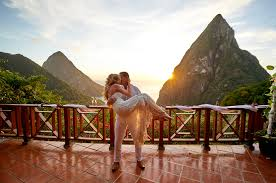 100 J Mountain St Lucia Free Wedding Package Ladera Resort