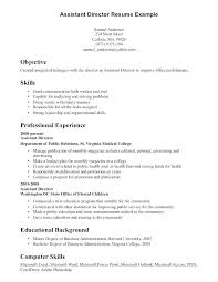 Special Skills Resume Theatre In For To Put A Examples Templates Sample Skill Choose Interests On
