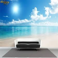beibehang meer strand meer große eigene wandbild tv hintergrund tapete mode wand papier wohnzimmer bett zimmer tapeten