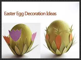 Two Cute Easter Egg Decorations Free Paper Crafts Download