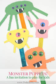 These Construction Paper Monsters Will Build Cutting Skills While Creating Fun And Easy Halloween Crafts For