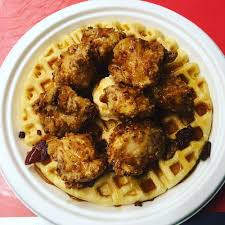 100 Buttermilk Food Truck BoomChinaWaffle Seasoned Buttermilk Chicken Cornbread Waffle