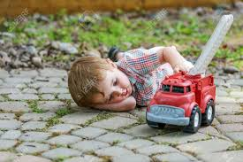 100 Toddler Fire Truck Videos Boy And Toy Series 5 A Laying Down On The