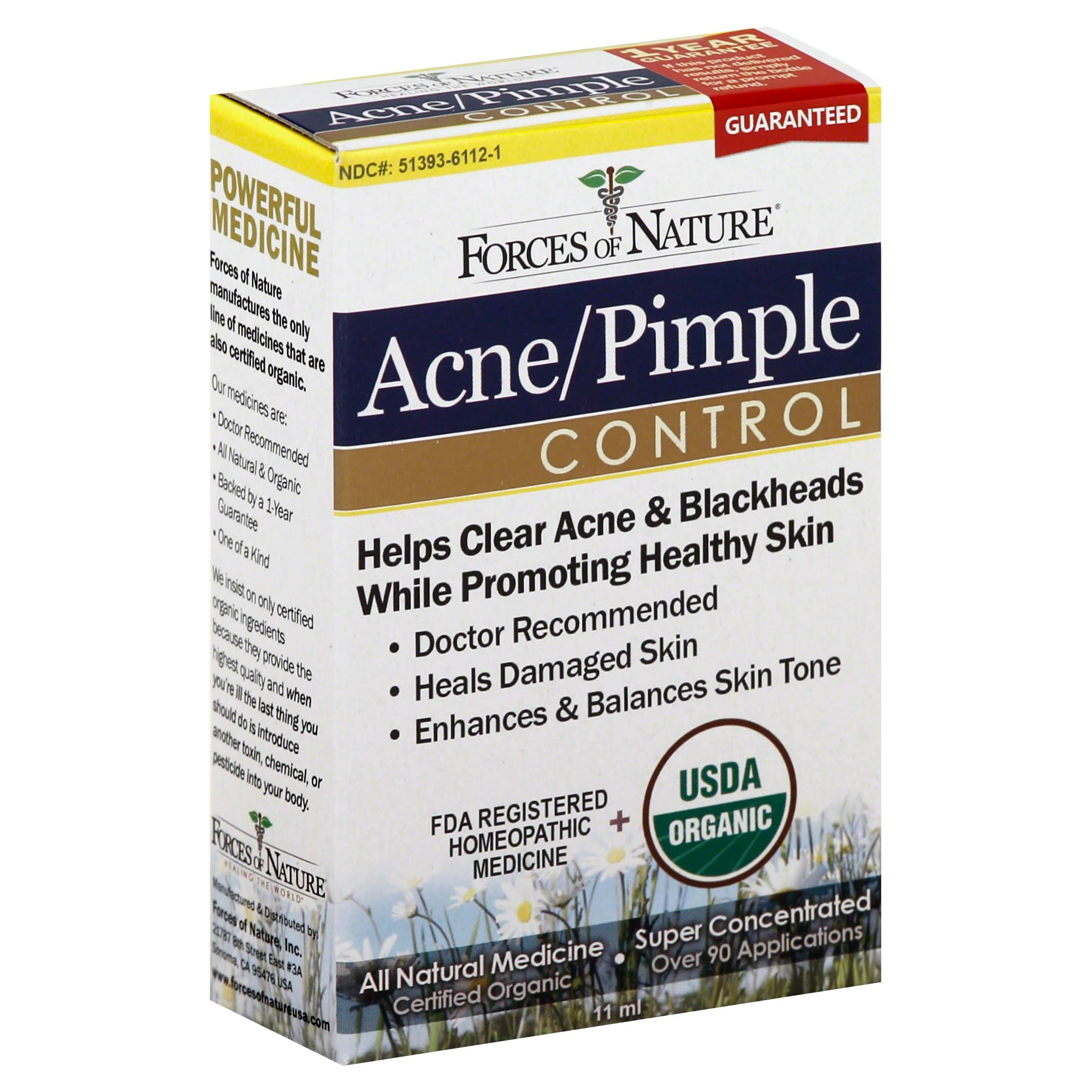 Forces of Nature Acne & Pimple Control - 0.37oz