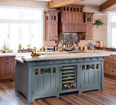 Image Of Oak Cabinets With Countertops