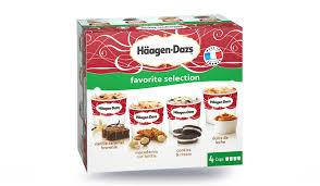 4 mini pots favorite selection surgelés les glaces sorbets