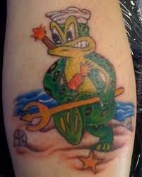 Freddy The Frogman Tattoo