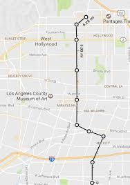 Lamps Plus La Brea Ave by Breaking Down Our Options For A Crenshaw Line Extension Urbanize La