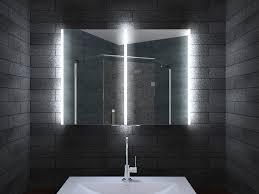 aluminium led beleuchtung badezimmer spiegelschrank mla8700
