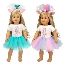 DADM Sew Your Doll Clothes Fabric And Pattern For 18 Inch Doll