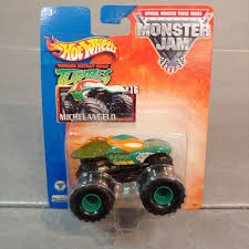 100 Ninja Turtle Monster Truck HOT WHEELS 2003 MONSTER JAM TEENAGE MUTANT NINJA TURTLES 16