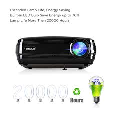 irulu p6 android 6 0 hd 1080p projector led lcd home cinema