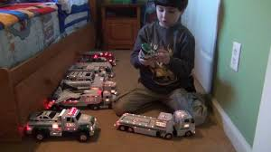 Hess Truck Collection Jms 6 Years Old - YouTube The Hess Trucks Back With Its 2018 Mini Collection Njcom Toy Truck Collection With 1966 Tanker 5 Trucks Holiday Rv And Cycle Anniversary Mini Toys Buy 3 Get 1 Free Sale 2017 On Sale Thursday Silivecom Mini Toy Collection Limited Edition Racer 911 Emergency Jackies Store Brand New In Box Surprise Heres An Early Reveal Of One Facebook Hess Truck For Colctibles Paper Shop Fun For Collectors Are Minis Mommies Style Mobile Museum Mama Maven Blog