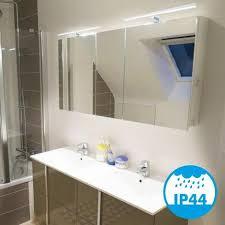 wandleuchte für badezimmer parma xl 8w 600 lumen ip44 4000k