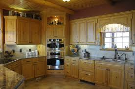 interior casual log cabin homes interior kitchen decoration using
