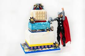 Comic Book Superhero Wedding Cake