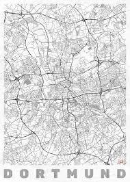 stadtkarte dortmund ǀ alle stadtkarten und landkarten zum aufhängen