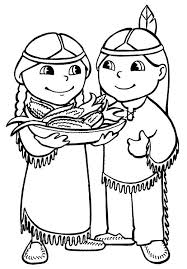 Thanksgiving Coloring Book Pages