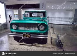 100 International Scout Truck Green Truck By Harvester Stock Editorial Photo