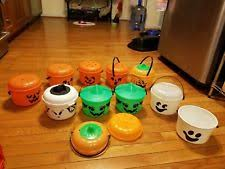 Mcdonalds Halloween Buckets by 1986 Mcdonalds Halloween Buckets Ebay