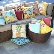 Outside Pillows Charming Outdoor Cushions In Modern Home Design Furniture Decorating With Walmart