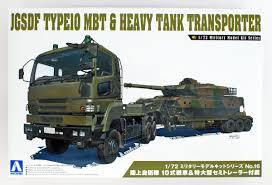 100 Rc Semi Trucks And Trailers Aoshima 54321 RC AFV Series No 16 JGSDF Type 1 PlazaJapan