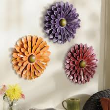 Large Metal Wall Flowers Adorable Flower Decor Roselawnlutheran 2018