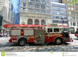 100 New York Fire Trucks Red Truck In City Editorial Image Image Of Emergency